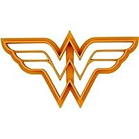 Tagliabiscotti a forma di logo di Wonder Woman