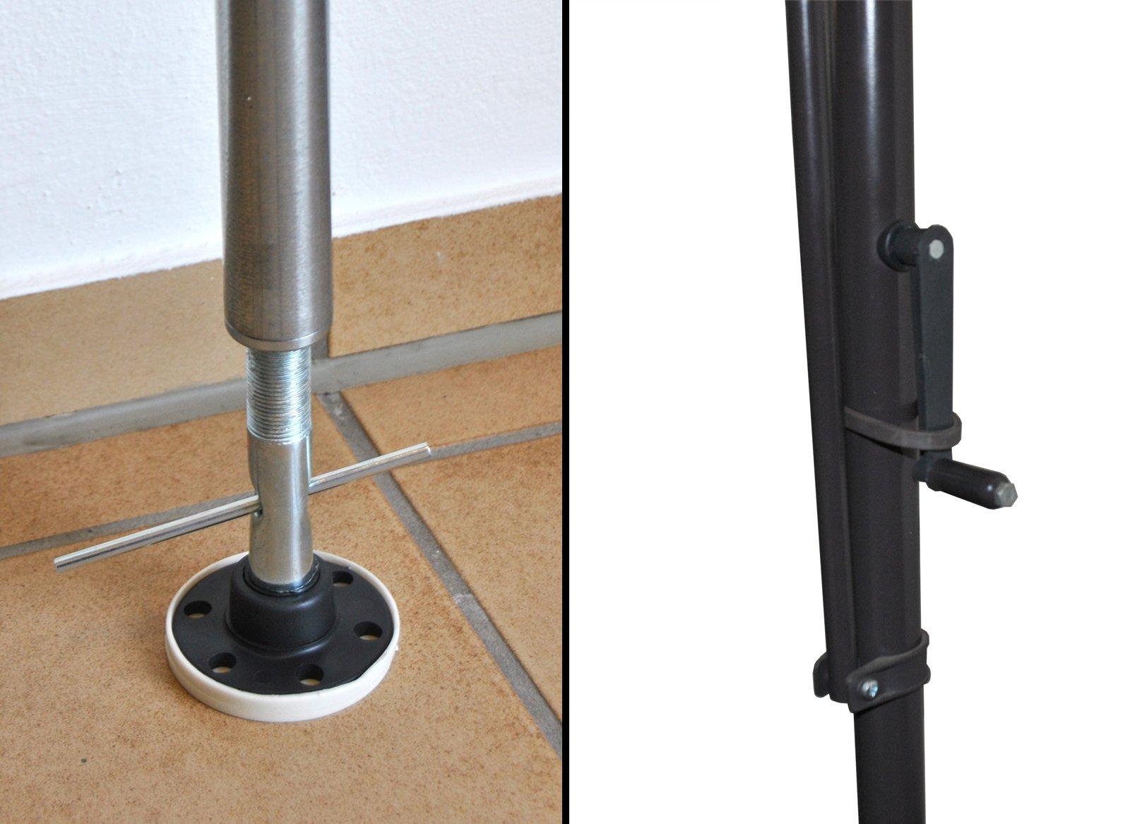 Angerer Klemmmarkise Style Granit 150 cm, 2314/005