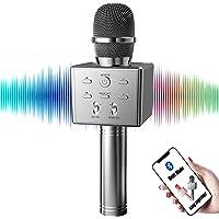 BeTIM Drahtloses Dynamisches Bluetooth Karaoke Mikrofon für Singen/Musik abspielen/Aufnahme, Tragbarer Handheld Karaoke…