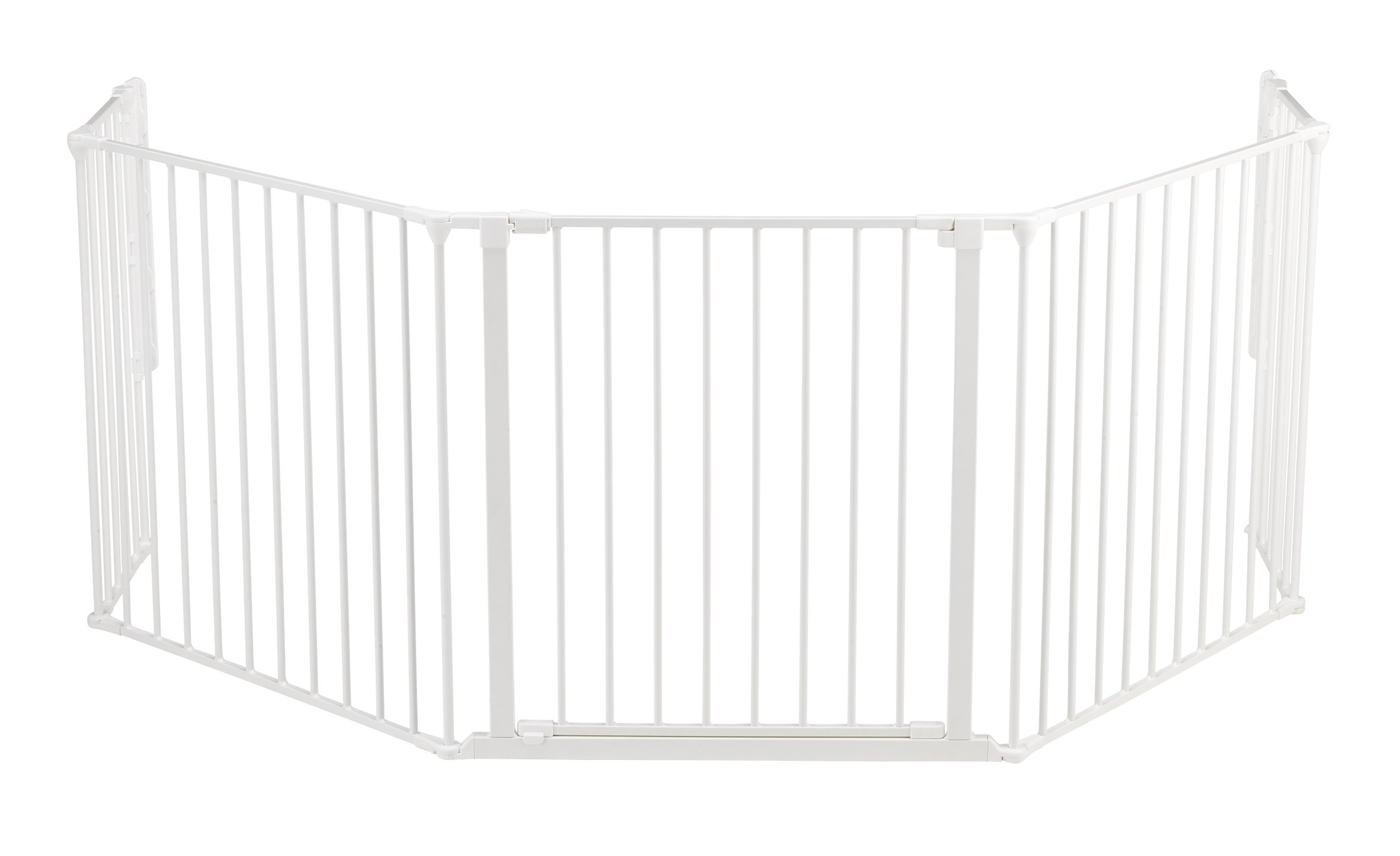 BabyDan Configure (Large 90-223cm, White)  Only configure system fulfilling newest European safety standard Multi purpose room divider and gate for wider openings Flexible and easy to fit 2