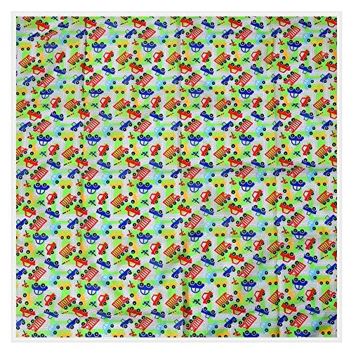 """Matte Hochstuhl (Zicac 47,2"""" Größe 120x120cm Splash Matte Wasserdichte für Baby Hochstuhl Waschbar Splash Spill Matte Boden Tisch Schutzmatte (A))"""