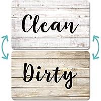 Aimants Pour Lave-vaisselle Scdom, Aimant Double Face en Bois Ancien, Aimants Avec Plaques Clean Dirty Magnétiques Pour…