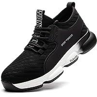 SROTER Chaussures de Sécurité pour Homme Femme, Standard S1 Embout Acier Respirant Chaussures de Travail Légère…