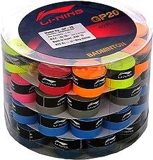 Li-Ning GP-20 Badminton Racquet Grip, Adult (Multicolor)
