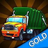 ville camion à ordures élimination course folle: nettoyer la ville - édition d'or