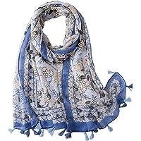 Vellette Sciarpa Morbido Moda Patterned Pashmina Scialle Stole per le Donne cotone Sciarpe e stole Scialli