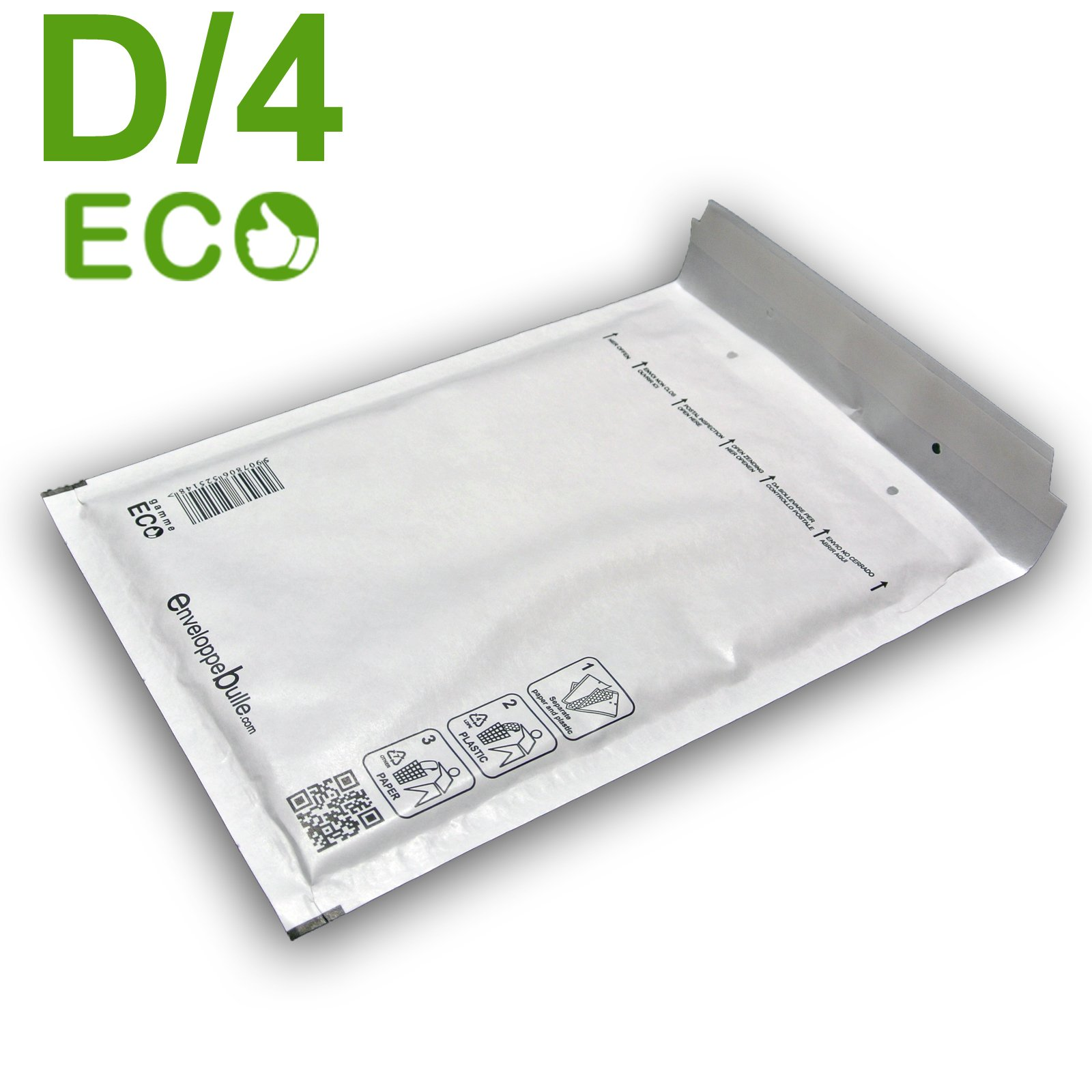 Lot De 100 Enveloppes Bulles Eco D 4 Format 180x260mm Ebay