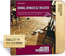 Jochen Schweizer Erlebnis-Box 'Krimi, Dinner & Theater' für 2