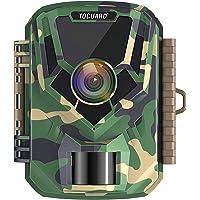 TOGUARD Petit Caméra de Chasse 16MP 1080P Caméra de Faune Caméra Vidéo Étanche avec Vision Nocturne 120°Grand Angle…