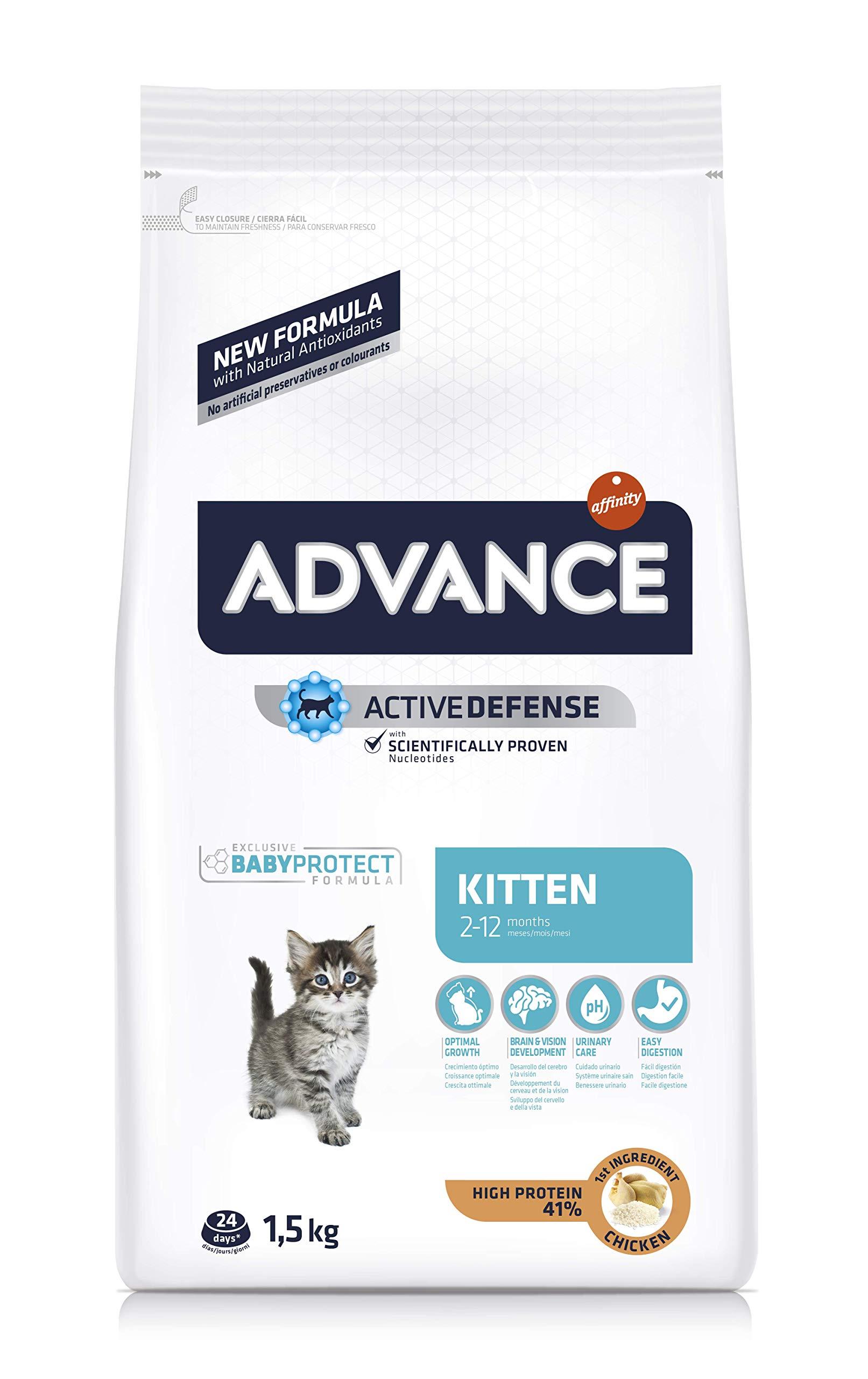 Advance Kitten – Pienso para Gatitos – 1.5 kg