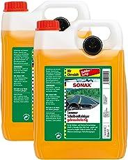 SONAX 2X 02605000 ScheibenReiniger gebrauchsfertig Citrus Konzentrat 5L