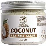 Kokos Scrub 450 g - 100% Natuurlijke Kokosolie Scrub - Body Scrub - Persoonlijke Verzorging - Huidverzorging - Sulfaatvrij -
