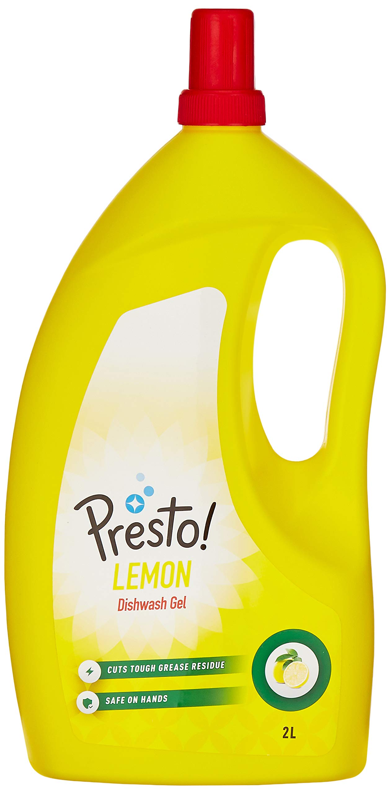 7e798c3a4a90f Amazon Brand - Presto! Dish Wash Gel - 2 L (Lemon)
