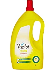 Amazon Brand - Presto! Dish Wash Gel - 2 L (Lemon)