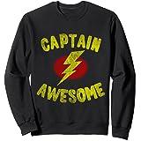Vintage Captain Awesome Sweatshirt
