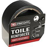 FACOM 84371 Adhésif renforcé haute résistance 10 m x 48 mm Noir