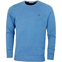 Calvin Klein Golf Mens 2021 Round Neck Tour Durable Comfort Sweater