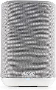 Denon Home 150 Multiroom Lautsprecher Hifi Lautsprecher Mit Heos Built In Wlan Bluetooth Usb Airplay 2 Hi Res Audio Alexa Kompatibel Weiß Audio Hifi