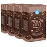 "Marca Amazon - Happy Belly Café molido ""Espresso Crema"" (4 x 250g)"