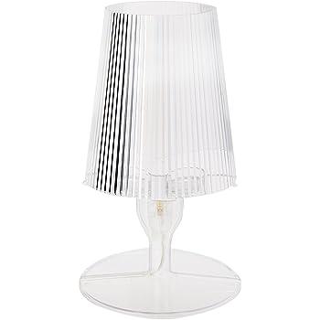 Kartell Battery Lampada da Tavolo, Cristallo: Amazon.it: Illuminazione