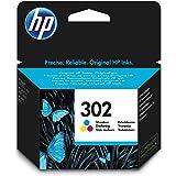 HP 302 Cartouche d'Encre Trois Couleurs Authentique (F6U65AE)