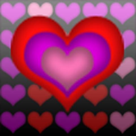 Valentine Hearts Light Trip Live