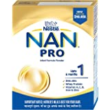 Nestlé NAN PRO 1 Infant Formula Powder (Upto 6 months), Stage 1-400g Bag-In-Box Pack