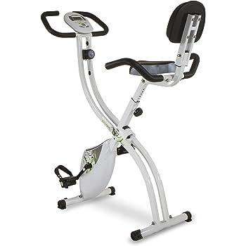 Tecnovita by BH Back Fit - Bicicleta estática plegable, Unisex adulto, color Blanco / Verde, talla Única