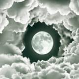 Cloudy Full Moon Live Wallpaper Free Animated Theme LWP Background