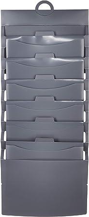 AmazonBasics Hanging 6 Pocket File Folders - Grey