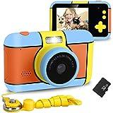 XDDIAS Cámara de Fotos para Niños, Infantil Cámara Digital con 32GB Tarjeta de Memoria y Pantalla de 2.4 Pulgadas, Videocámar