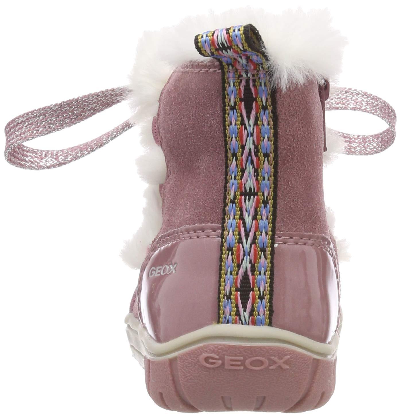Geox B Omar Girl A, Botas para Bebés