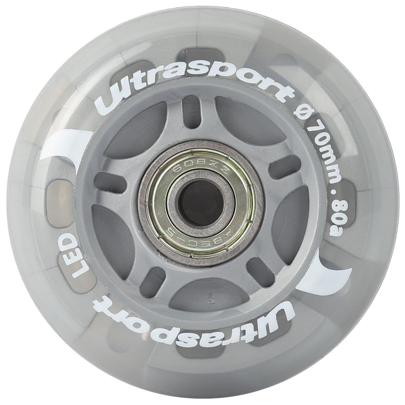 Ultrasport Roues de roller pour usage en ext/érieur et en int/érieur bonne adh/érence