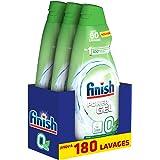 Finish Gel 0% Ecolabel Détergent pour Lave-Vaisselle 900 ml - Pack de 3