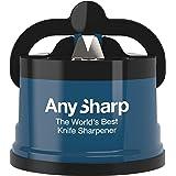 ANYSHARP 51ANY1 Aiguiseur Couteaux, Plastique, Bleu, Taille Unique