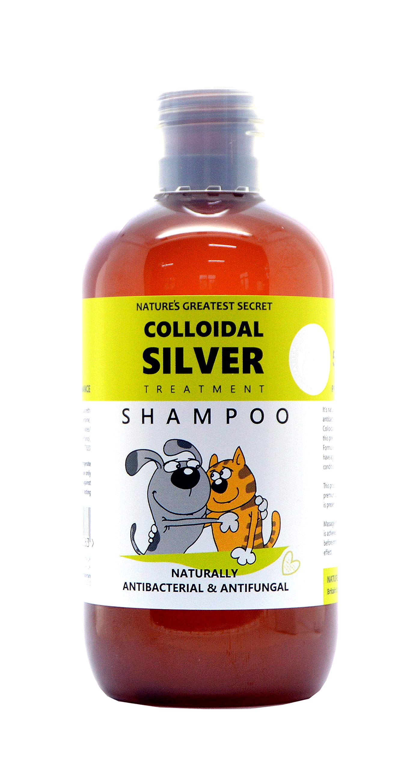 Nature's Greatest Secret Colloidal Silver Antibacterial Pets Shampoo, 250 ml