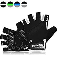 TOLEMI Cycling Gloves Womens Fingerless Mountain Bike Gloves Breathable MTB Glove Bicycle Gloves Women Weight Lifting…