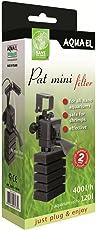 Aquael 5905546197588 Pat Mini Filter Mit Zusätzlicher Babygarnelen Sicheren Schwammpatrone