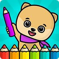 Kinderspiele mit Malbuch Spiele für Kinder