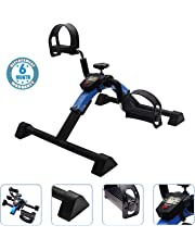 Voroly Heavy Duty Pedal Exerciser - Arm & Leg Exercise Peddler Machine - Low Impact Desk Cycle - Fitness Equipment for Seniors and Elderly - Folding Exercise Bike