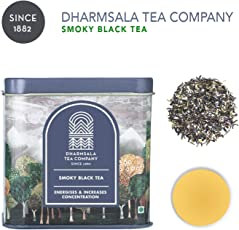 Dharmsala Black Tea, Himalayan Whole Leaf Loose Black Tea, 100g, USDA Organic Certified, Freshly Packed at Our Plantations in Dharmsala