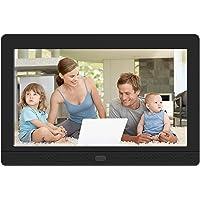MELCAM Digitaler Bilderrahmen 7 Zoll,1280x800 Hochauflösender elektronischer Bilderrahmen für Foto/Musik/Video Player…