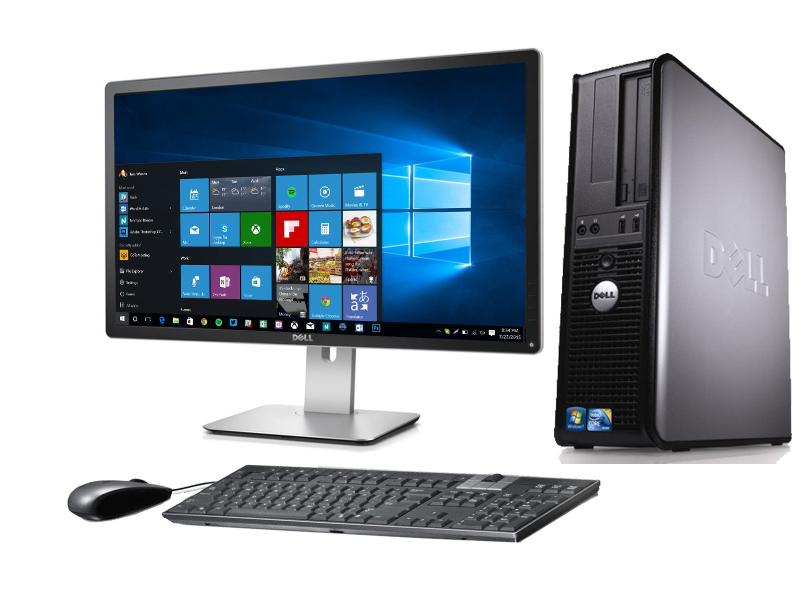 DELL OPTIPLEX 780 DESKTOP CORE 2 QUAD 2.4GHZ 4GB 160GB 22″ MONITOR WINDOWS 10 64BIT (Certified Refurbished)