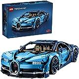 LEGO42083TechnicBugattiChiron,SuperSportautoExclusiefVerzamel en Displaymodel,GeavanceerdeBouwset voor Volwassenen