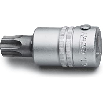 Silver Hazet 8502-T9 1//4-Inch T9 Screwdriver Socket