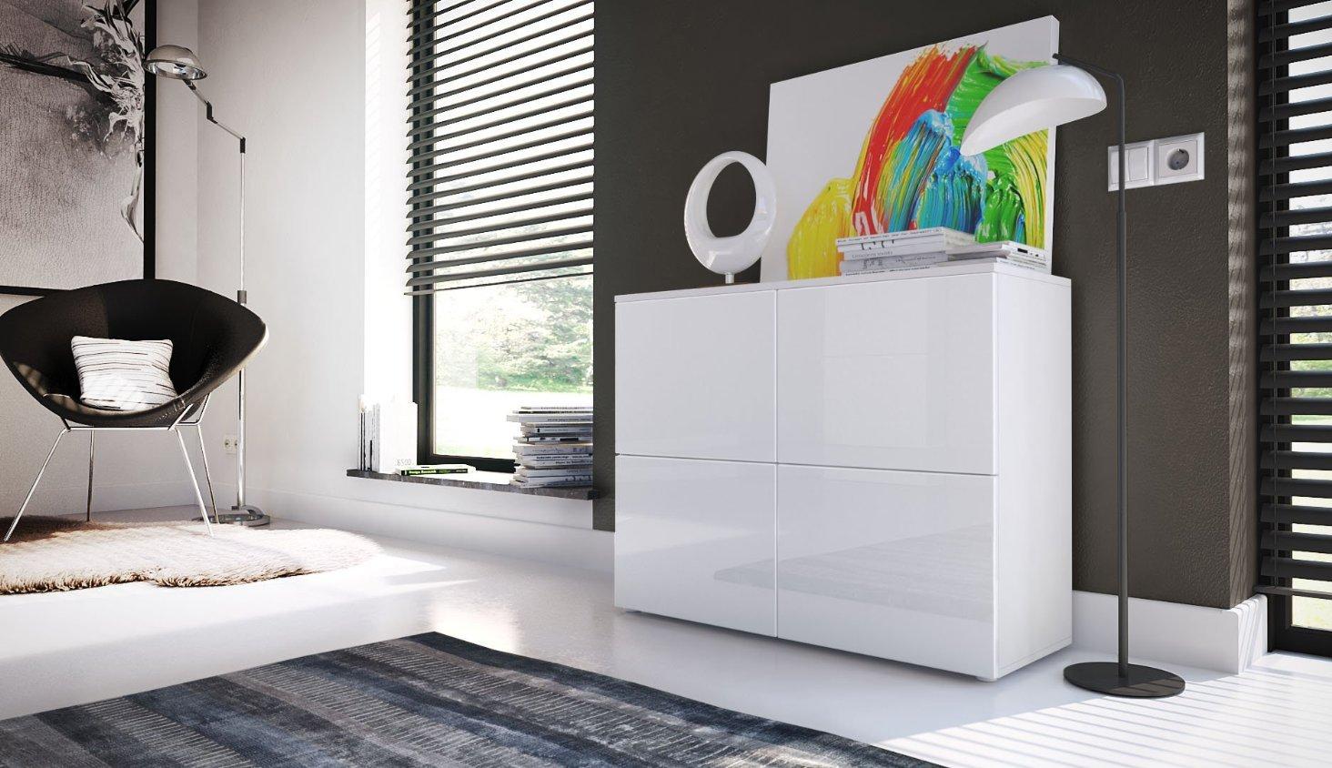 Mobili Per Soggiorno Di Design : Comò moderno skate mobile soggiorno di design bianco credenza per