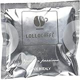 150 Cialde Caffè 44mm - Argento Espresso - Lollo Caffè
