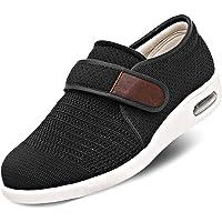 SAKEN Diabetic Shoesfor Men, Hiking Shoe Wide Fitting Slipper Plantar Fasciitis Trainer Air Shoe Trainer for Swollen…