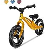 Lionelo Bart Bicicleta sin Pedales 39 x 88 x 50-57 cm para niños de hasta 30 kg Ajuste del Asiento y Manillar Bloqueo de Vola
