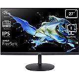 "Acer CB272bmiprx Monitor Professionale FreeSync 27"" Display IPS Full HD, 75 Hz, 1 ms, 16:9, VGA, HDMI 1.4, DP 1.2, Lum 250cd/"